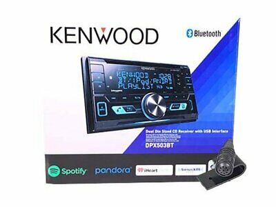 Kenwood Double DIN CD Bluetooth SiriusXM Car Stereo (Replaced DPX502BT