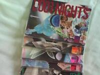 A complete set of virt mint condition comics titled 2001 (10 editions) £50 ono