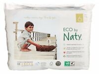 Naty by Nature Babycare Size 6 Eco Pull-On Training Pants brand new pack