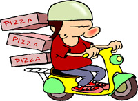 Hiring pizza delivery drivers both full-time and part-time