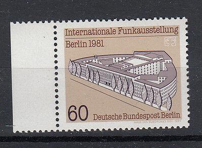 Berlin Briefmarken 1981 Funkausstellung Mi.Nr.649** postfrisch Rand