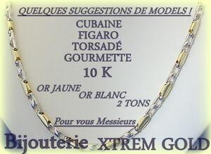 Bijouterie XtremGold Vente Chaine 10K-14K-18K