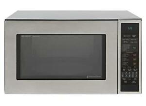 SHARP CAROUSEL COUNTERTOP CONVECTION + MICROWAVE OVEN 1.5 CU. FT. $149.99  NO TAX