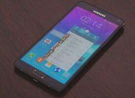 Samsung note 4, Black, EE