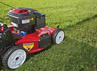 AVAILABLE TO MOW LAWN AT A GREAT PRICE!