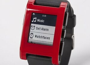 Pebble SmartWatch kickstarter edition