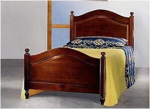 Letto singolo arte povera in legno massello in vari colori - Camera letto arte povera ...