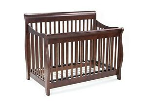 Convertible Sleigh Crib - Double Bed