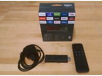 Amazon Firestick (with box, wires and remote)