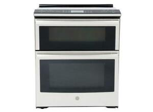30-inch Ge Profile Double Oven Stove, Convection, Stainless
