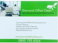 Office Cleaners / Cleaning Operatives - London City/West End - DIAMOND OFFICE CLEAN