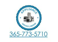 APPLIANCE REPAIR SERVICE **CERTIFIED LOW RATES SUNDAYS**