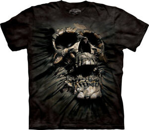 New-BREAKTHROUGH-SKULL-GOTHIC-T-SHIRT