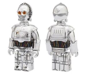 Kubrick-2012-Wonder-Festival-100-Star-Wars-Exclusive-TC-14-Silver-Chrome-1pc