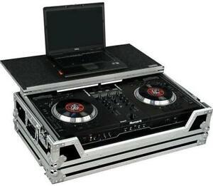 *NIB* Road Case for Numark DJ Controller NS7 w/ Laptop Glider