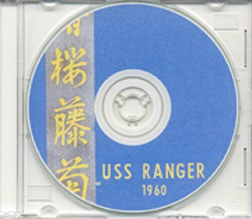 USS Ranger CVA 61 1960 Cruise Book on CD RARE