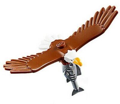LEGO City Golden Eagle Bird & Fish Animal Train Town Scenery 60197 60198