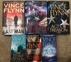 Mixed Lot Vince Flynn Books