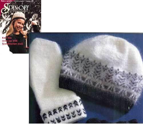 Spin-off magazine winter 2000:hand spindles,scandinavian