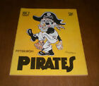 Pittsburgh Pirates Baseball 1957 Vintage Sports Publications