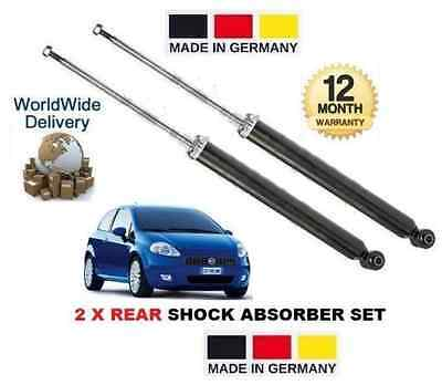 FOR FIAT PUNTO + GRANDE PUNTO 199 2006 > 2x REAR SHOCK ABSORBER SHOCKER SET