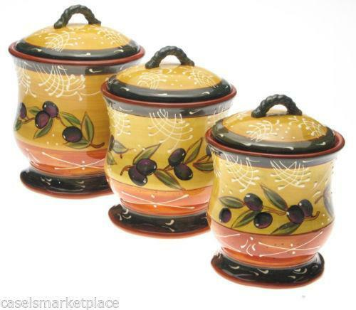 kitchen canisters french kitchen canisters ebay 12965