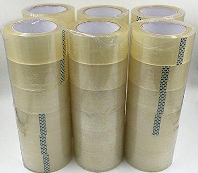 CG 36 Rolls Clear Carton Shipping Box Sealing Packing Tape 2