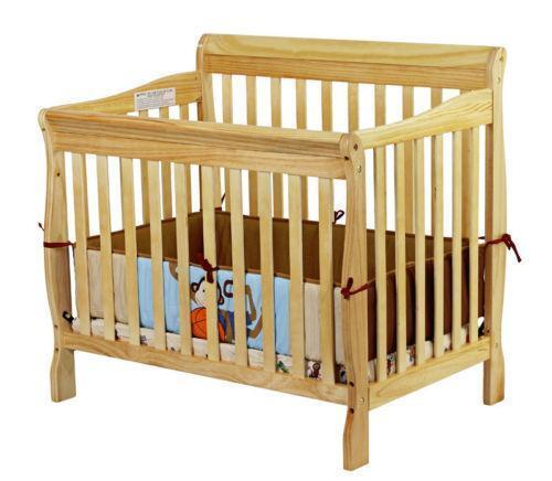 Baby Crib Natural Ebay
