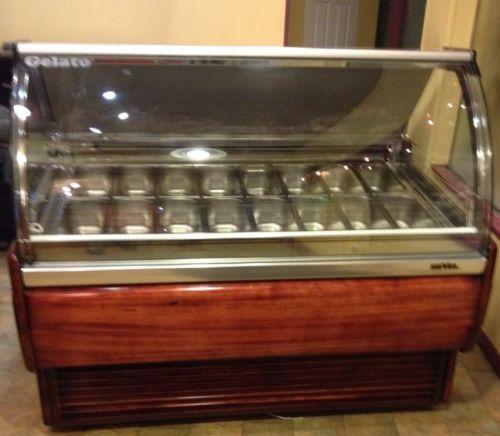 Gelato Display Case Refrigeration Amp Ice Machines Ebay