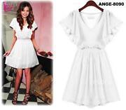 White Short Cocktail Dress