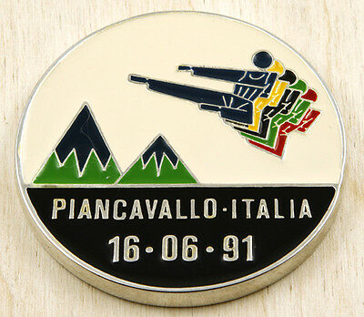Italy 1991 Taekwondo European Championship Medal 70mm