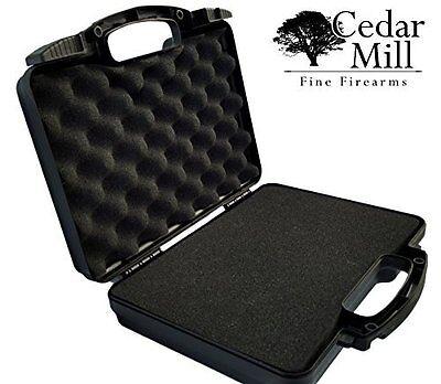 Lockable Pistol Gun Case - Airline TSA Approved by Cedar Mill Firearms