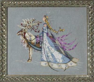 Snow Queen by Mirabilia MD143 cross stitch pattern