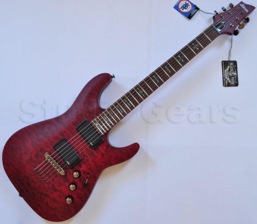 schecter guitar c1 custom ebay. Black Bedroom Furniture Sets. Home Design Ideas