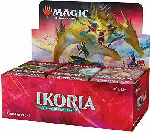 Mtg Ikoria: Lair Of Behemoths English Booster Box New Factory Sealed