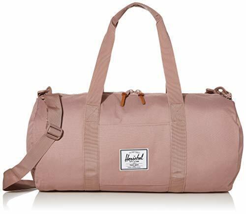 Herschel Sutton Duffel Bag, Pink Lady Crosshatch, Mid-Volume 28.0L