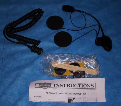 Harley Headset Motorcycle Parts Ebay
