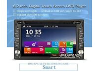 In Dash 6.2'' Touchscreen Car Dvd Player Stereo