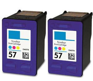 PACK 2 cartucho NonOem XL para HP 57 psc 1350 Photosmart 7350 7450 7450 XI 7459 - España - LOS ARTICULOS PUEDEN SER DEVUELTOS SIN COSTE NINGUNO, CUANDO NO SEAN DE SU AGRADO. TODOS TIENEN 2 AÑOS DE GARANTIA. - España