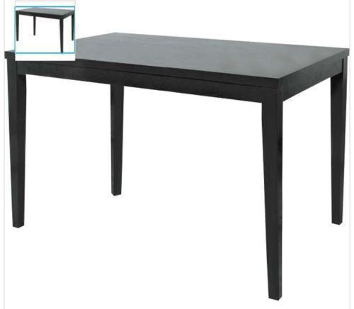Black Extending Dining Table eBay : 3 from www.ebay.co.uk size 500 x 436 jpeg 11kB