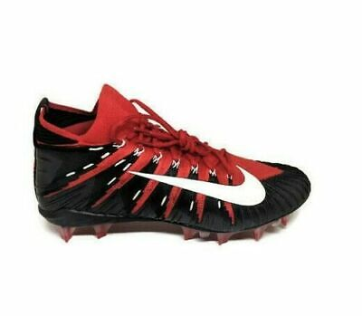 5f2c82575 Nike Alpha Menace Elite 877140-610 Men s Red Black-White Football Cleats 14