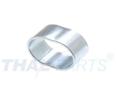 10er Pack Würgeklemmen für 8 mm Expanderseile Stahl - galv.- verzinkt Gummiseil