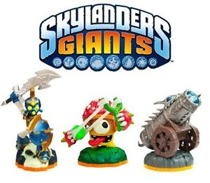 SKYLANDERS GIANTS BATTLE PACK CANNON SHROMBOOM CHOP CHOP SKYLANDER XBOX PS3 WII