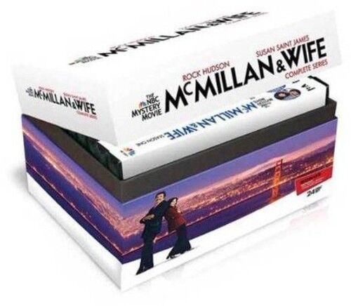 McMillan & Wife: Complete Series [24 Discs] (2012, REGION 1 DVD New)