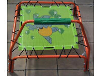 Trampoline-Childrens-Kids-Childs-Square-Indoor-or-Outdoor-Use-Juniors