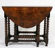 Antique Oak Side Table