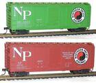 Green Box Car Accurail HO Scale Model Railroad Freight Cars