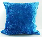 Blue Velvet Cushion Covers