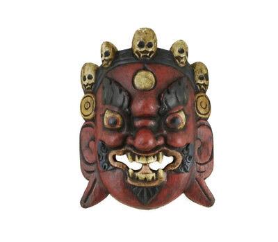 Mask Hat and Mitten Set of L Himalaya Demon Nepal F1 S