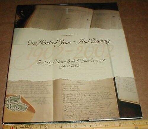 Union Bank & Trust Company Banking History Bowling Green VA Virginia 2002 book